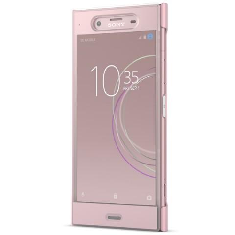 Купить чехол для сотового телефона Sony Xperia XZ1 Cover Touch Pink (SCTG50) (50051605) в Москве, в Спб и в России