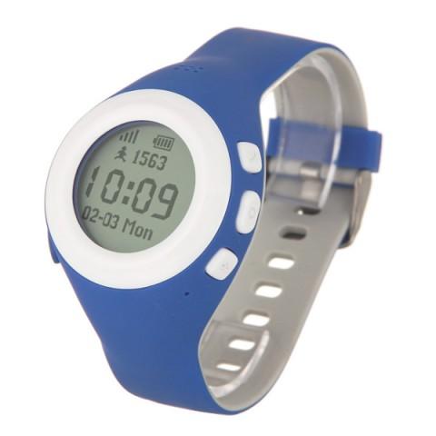 Купить часы с GPS трекером HIPER BabyGuard Blue (BG-01BLU) (50051615) в Москве, в Спб и в России