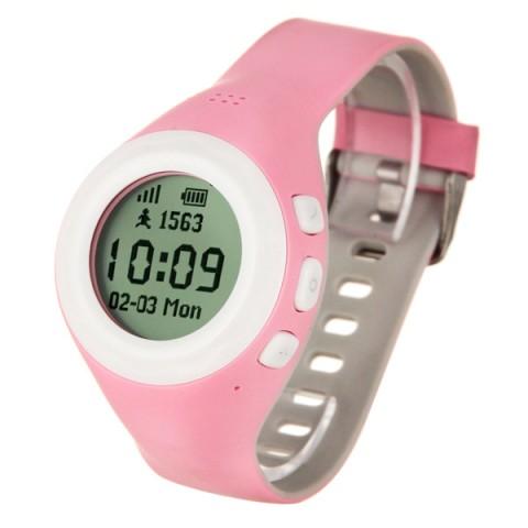 Фотография товара часы с GPS трекером HIPER BabyGuard Pink (BG-01PNK) (50051616)