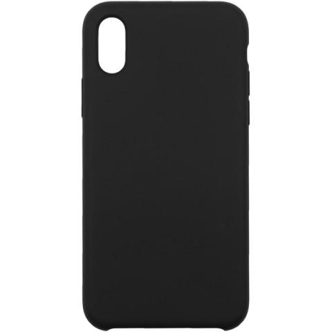 Купить чехол для iPhone InterStep для iPhone X SOFT-T METAL ADV черный (50051658) в Москве, в Спб и в России