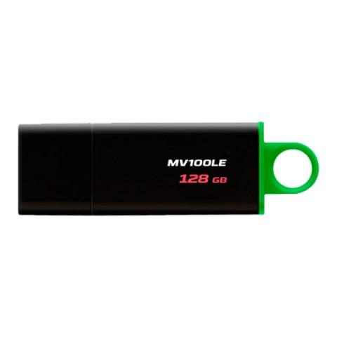 Купить флеш-диск Kingston DataTraveler 128GB USB 3.1 (MV100LE/128GB) (50051662) в Москве, в Спб и в России