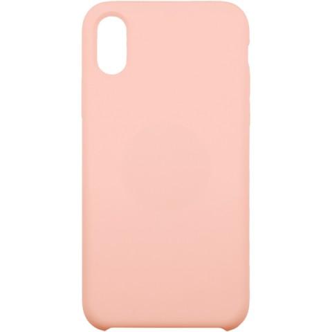 Фотография товара чехол для iPhone InterStep для iPhone X SOFT-T METAL ADV розовый (50051670)