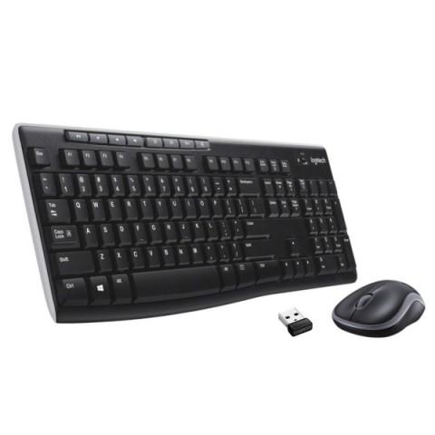 Купить комплект клавиатура+мышь Logitech MK275 (920008535) (50051681) в Москве, в Спб и в России