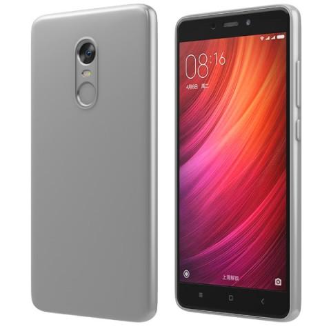 Фотография товара чехол для сотового телефона Vipe Color для Xiaomi Redmi Note 4 Silver (50051687)