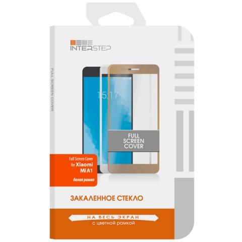 Фотография товара защитное стекло InterStep Full Screen Cover для Xiaomi Mi A1 White (50051703)
