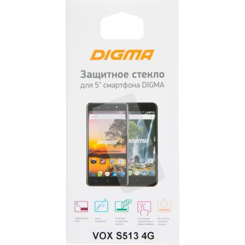 Фотография товара защитное стекло Digma для VOX S513 4G (50052008)