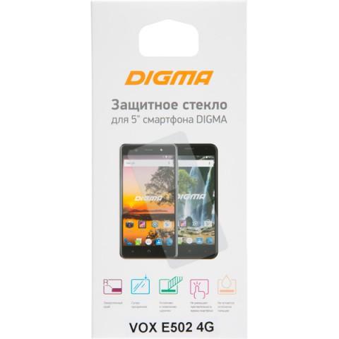 Фотография товара защитное стекло Digma для VOX E502 4G (50052009)