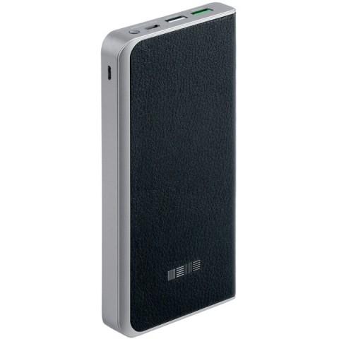 Фотография товара внешний аккумулятор InterStep PB12000 Black, 12000 mAh, QC3.0 Type-C DualIN (50052024)