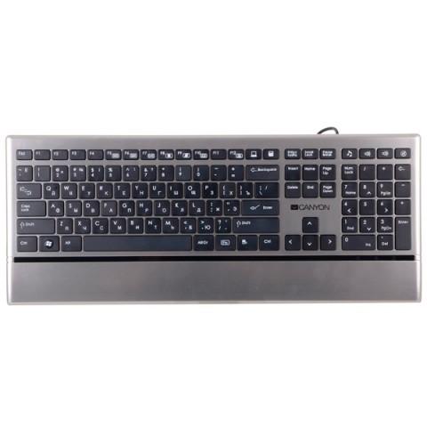 Фотография товара клавиатура проводная Canyon CNS-HKB4 (50052034)