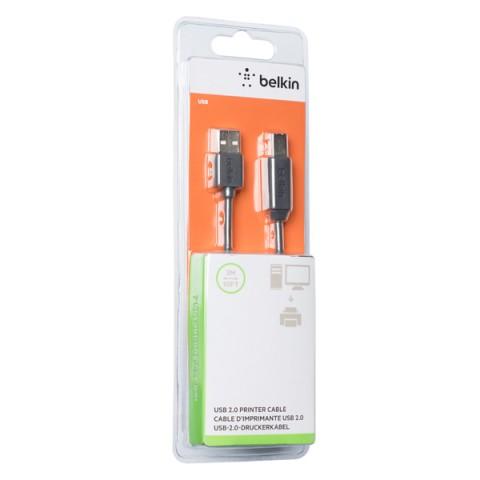 Фотография товара кабель для компьютера Belkin USB-A(М)/USB-B(М), 3m (F3U154BT3M) (50052062)