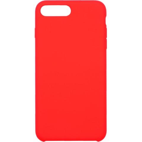Фотография товара чехол для iPhone InterStep iPhone 8/7 Plus SOFT-T METAL ADV красный (50052405)