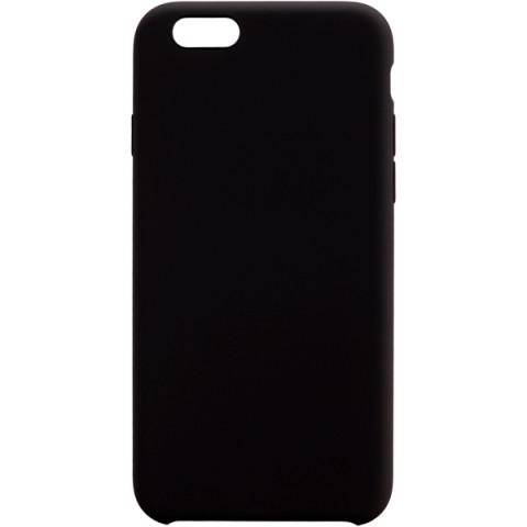 Фотография товара чехол для iPhone InterStep iPhone 6/6S SOFT-T METAL ADV черный (50052540)