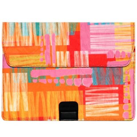 "Фотография товара кейс для MacBook Vivacase для MB Air Harlequin12""-13.3""Orange(VCN-FHC15-or) (50052569)"