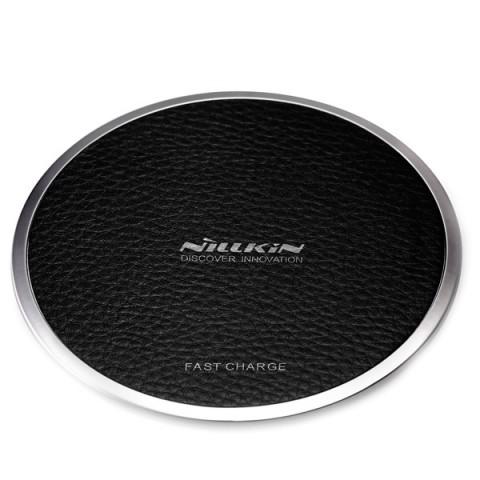 Фотография товара беспроводное зарядное устройство Nillkin Wireless charger Magic Disk 3 Black (50052619)