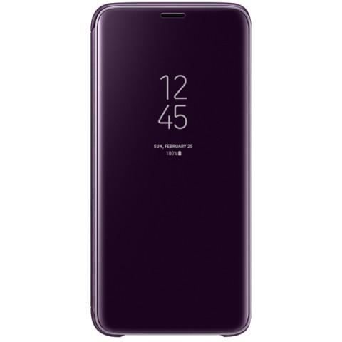 Фотография товара чехол для сотового телефона Samsung Clear View S.Cover для Samsung Galaxy S9, Or.Gray (50052678)