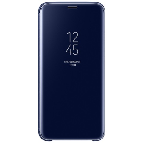 Фотография товара чехол для сотового телефона Samsung Clear View S.Cover для Samsung Galaxy S9, Blue (50052679)