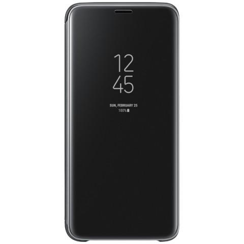 Фотография товара чехол для сотового телефона Samsung Clear View S.Cover для Samsung Galaxy S9, Black (50052690)