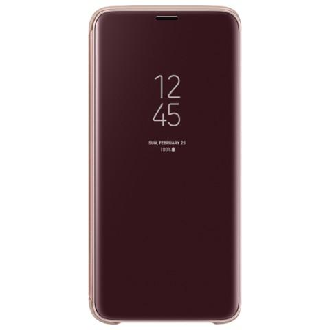 Фотография товара чехол для сотового телефона Samsung Clear View S.Cover для Samsung Galaxy S9, Gold (50052691)