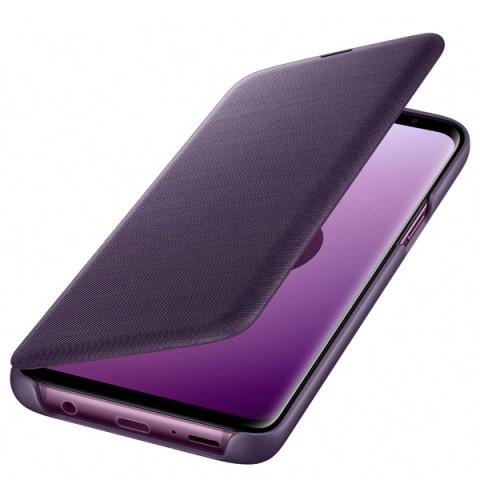 Фотография товара чехол для сотового телефона Samsung LED View Cover для Samsung Galaxy S9, Orchid Gray (50052692)