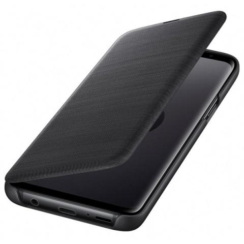 Фотография товара чехол для сотового телефона Samsung LED View Cover для Samsung Galaxy S9, Black (50052693)