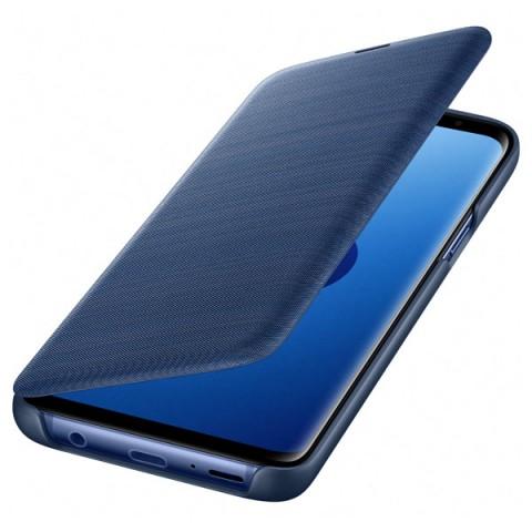 Фотография товара чехол для сотового телефона Samsung LED View Cover для Samsung Galaxy S9, Blue (50052694)