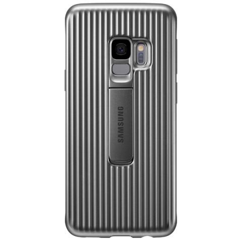 Купить чехол для сотового телефона Samsung Protective S.Cover для Samsung Galaxy S9, Silver (50052695) в Москве, в Спб и в России