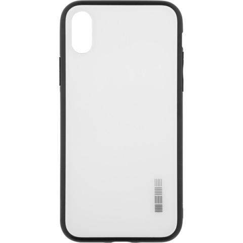 Купить чехол для iPhone InterStep для iPhone X GLASS ADV белый (50052732) в Москве, в Спб и в России